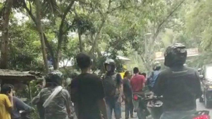 BREAKING News Jalan Raya Tasik-Cipatujah Mencekam, 4 Debt Collector Dipukuli, Motor Dibuang ke Parit