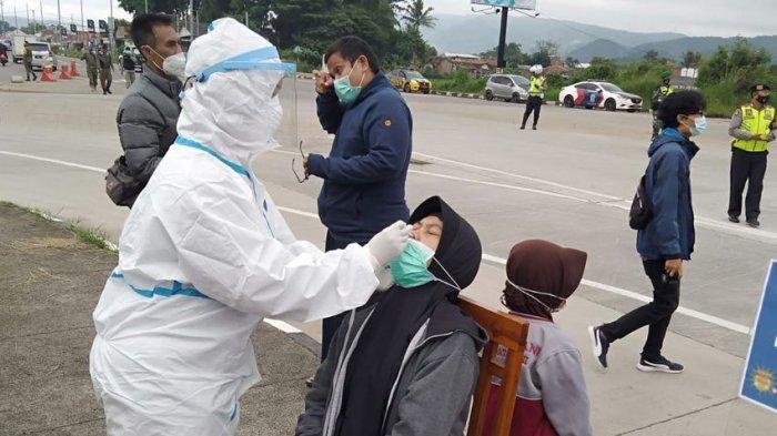 Masuk Kabupaten Bandung Harus Bebas Covid-19, di Tol Soroja Ditemukan 3 Penumpang Bus Reaktif
