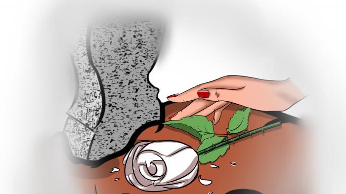 Mawar Putih di Batu Candi