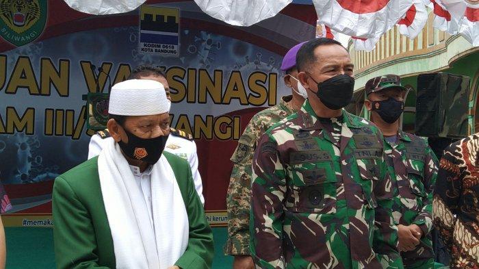TNI Serbu Pesantren Di Bandung, Pangdam III/Siliwangi Sesalkan Pesantren yang Tak Mau Divaksin