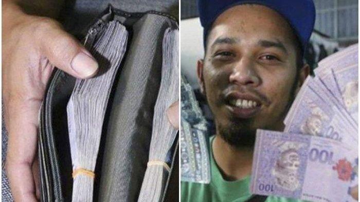 Pria Ini Nyaris Pingsan, Beli Jas Bekas di Pasar Loak, di Saku Terselip Dompet Ini Uang Puluhan Juta