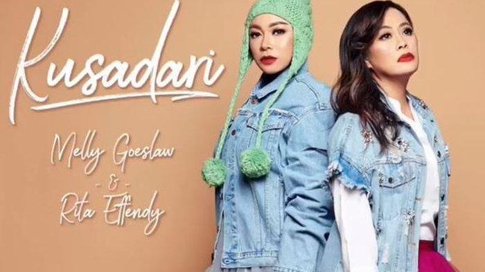 Melly Goeslaw Kolaborasi dengan Rita Effendy Rilis Lagu Baru Kusadari, Ceritakan Tentang Penyesalan