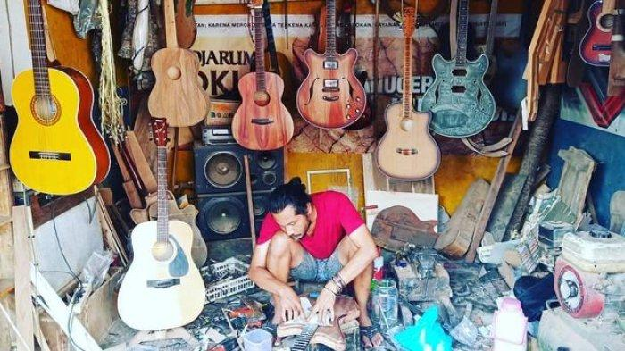 Rumus Phytagoras Menjadi Patokan Meeng Saat Membuat Gitar, Dibeli Rocker Asal Bandung