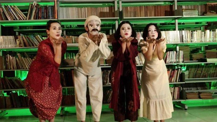10 Tahun Hari Pantomim Sedunia, Bandung, Indonesia World Mime Day 2021