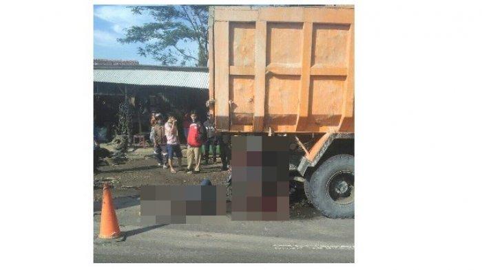 Video Kecelakaan Maut di Sukabumi, Motor Tabrak Pantat Truk yang Parkir 1 Tewas di Tempat