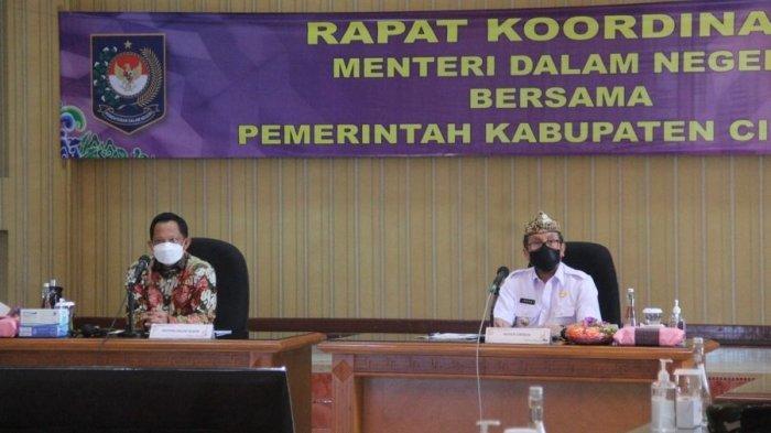 Mendagri Sebut Kasus Covid-19 di Kabupaten Cirebon Menurun Selama PPKM Darurat