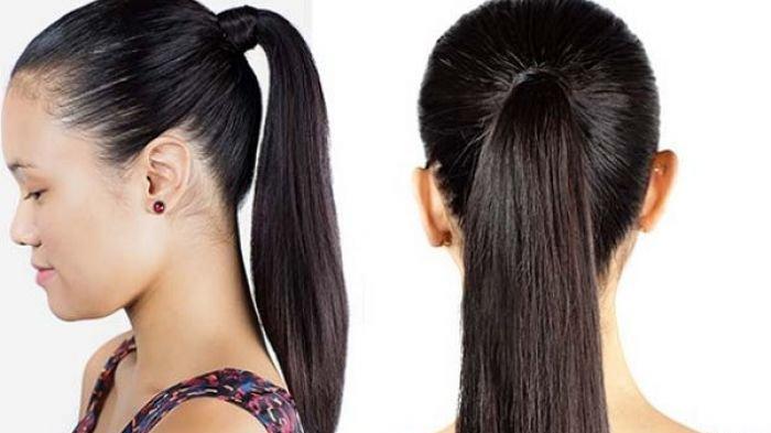 mengikat rambut bikin rambut rontok