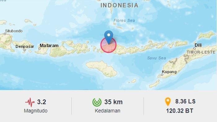 Jelang Tengah Malam, Gempa Landa Ruteng NTT, Sebelumnya BMKG Laporkan Gempa di Pacitan Jatim
