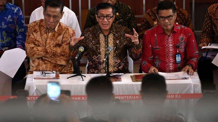 Heboh Menkumham Yasonna Laoly Minta Maaf dan Mengundurkan Diri, Ternyata Mau Pindah Kantor ke DPR RI