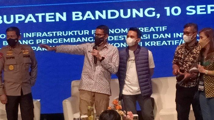 Pelaku Usaha di Bandung Curhat Usaha Melemah, Sandiaga Uno Jelaskan Solusi dari Pemerintah