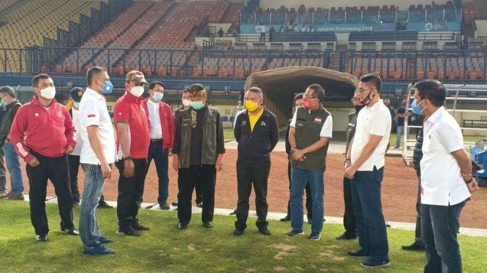 Menpora dan PSSI Tinjau Stadion si Jalak Harupat Bandung, Persiapan Piala Dunia U-20
