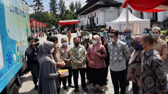 Jawa Barat Terima Produk Inovasi untuk Penanganan Covid-19 dari Kemenristek, Ini Bentuknya