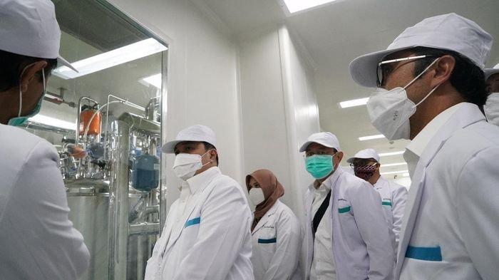 Erick Tohir Pastikan Bio Farma Siap Produksi 250 Juta Dosis Vaksin Covid-19