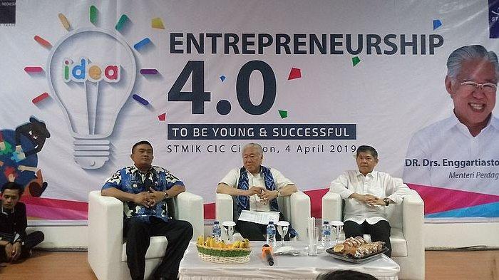 Mendag RI Ajak Mahasiswa STMIK CIC Cirebon Tumbuhkan Konsep Kewirausahaan