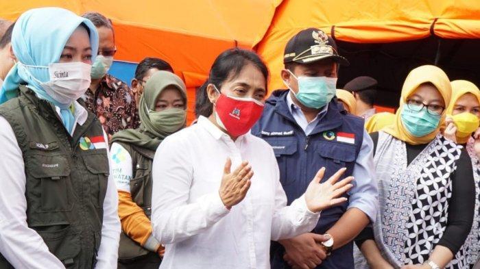 Kementerian PPPA Ikut Turun Tangani Perempuan dan Anak yang Terdampak Longsor Cimanggung