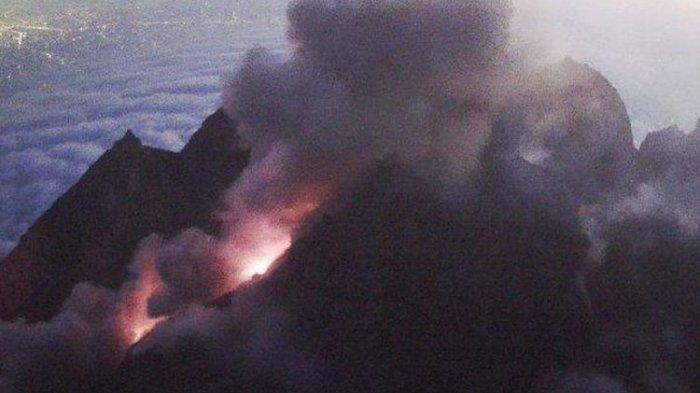 Gunung Merapi Erupsi Selasa Pagi, Keluarkan Awan Panas Guguran Sejauh 1.100 Meter