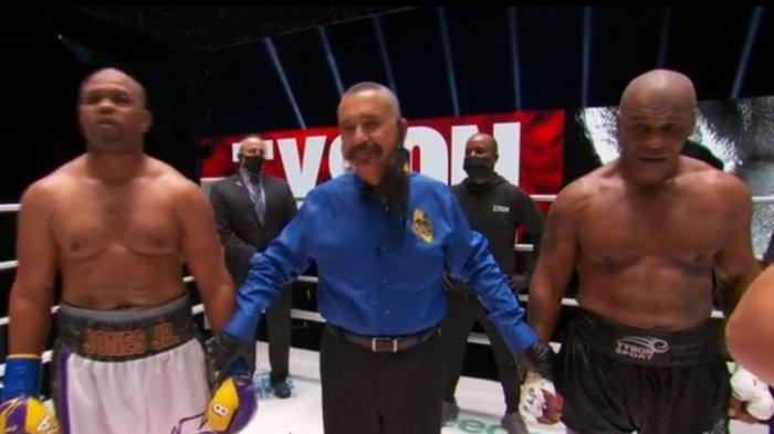 Imbang Lawan Roy Jones Jr, Mike Tyson: Kenapa Tak Ada yang Memikirkan Nasib Saya?