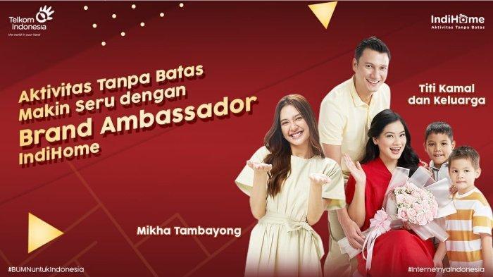 Mikha Tambayong dan Titi Kamal Ajak Masyarakat Nikmati Aktivitas Tanpa Batas Bersama IndiHome