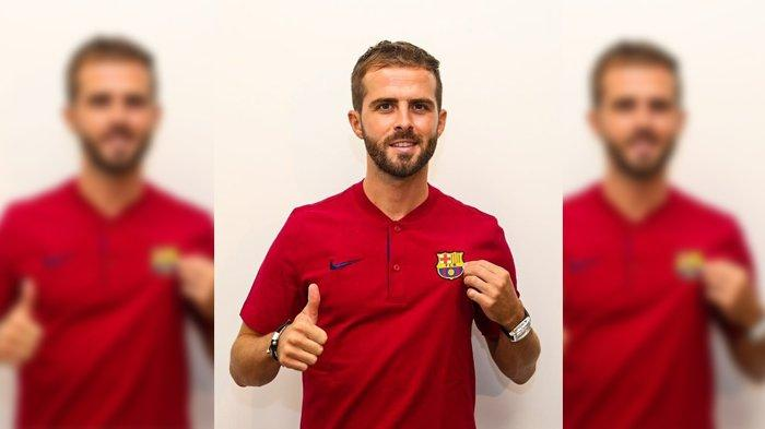 Miralem Pjanic Tiba di Barcelona Setelah Harus Menjalani Karantina Dua Minggu di Turin