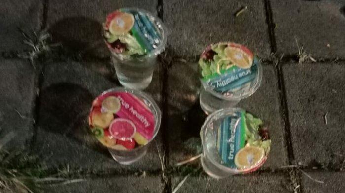 Polisi Temukan Miras yang Dikemas Dalam Gelas Plastik Bergambar Buah-buahan
