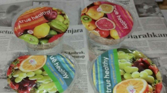 WASPADA, Penjualan  Miras yang Dikemas Dalam Gelas Plastik, Bergambar Buah-buahan