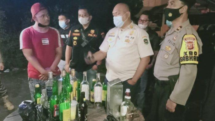 Tim Gabungan Sisir Wilayah Purwakarta, Amankan Miras Hingga Motor yang Tak Dilengkapi Surat-surat