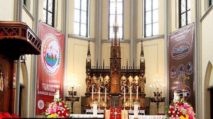 Jadwal Misa Online Hari Ini (Minggu, 24/1/2021), Katedral Bandung Jam 06:00, 10:00 dan 17:00 WIB