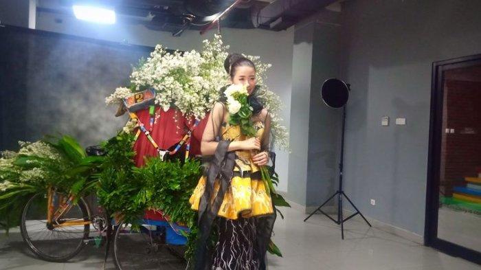 Keren, Koleksi Gaun Desainer Asal Bandung Digunakan oleh Miss Heritage Japan
