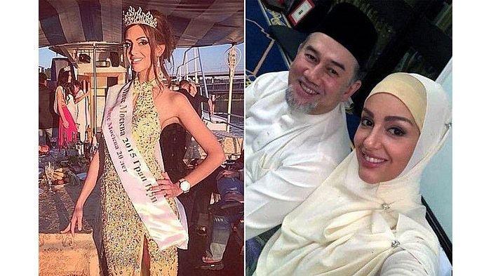Mantan Miss Moscow Jadi Ratu di Malaysia, Setelah Dinikahi Raja Muhammad V dari Kelantan