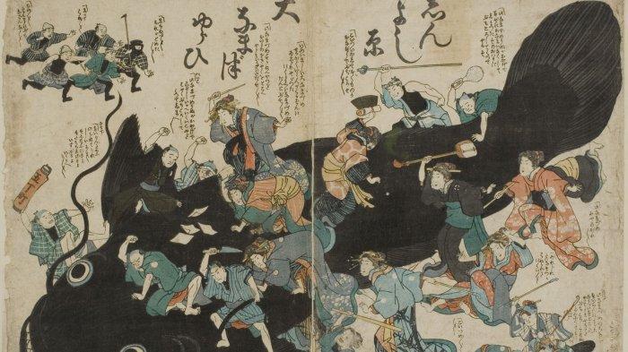 Gempa Bumi Jepang Dipicu Namazu? Berikut Kisah yang Menyertai Gempa di Sejumlah Negara