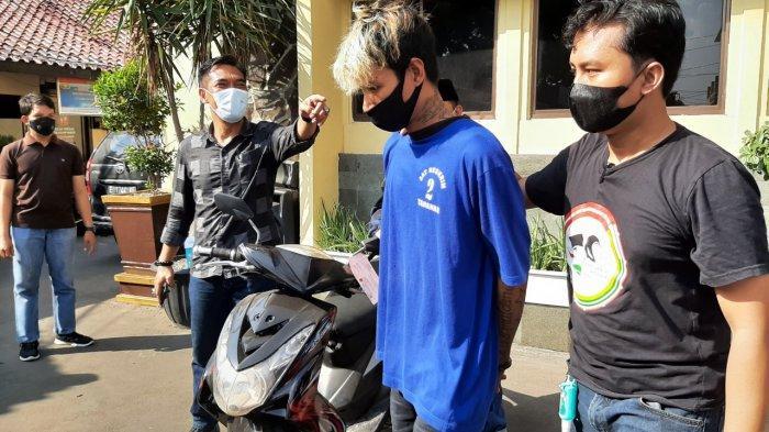 Buruh di Cirebon Maling Motor yang Parkir Depan Rumah, Kurang dari 24 Jam Langsung Diringkus Polisi