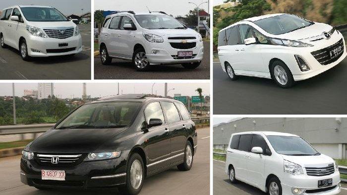 Daftar 5 Mobil Bekas MPV Murah Harga di Bawah Rp 100 Jutaan, Cek Harga Mobil Bekas Toyota Avanza