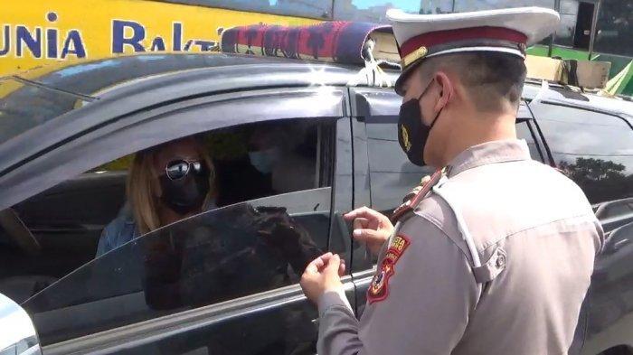Oprasi Yustisi Covid 19, Puluhan Kendaraan Diputar Balik di Cileunyi, Tak Bisa Tunjukan Hasil Tes