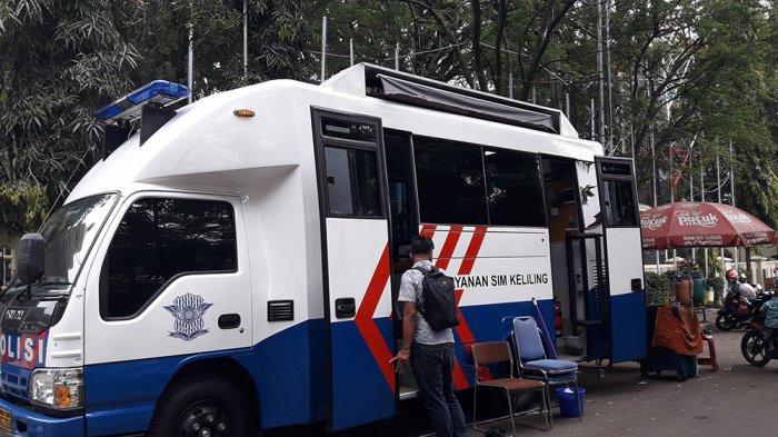 Layanan SIM Keliling Polres Cimahi, Selasa 28 November 2017