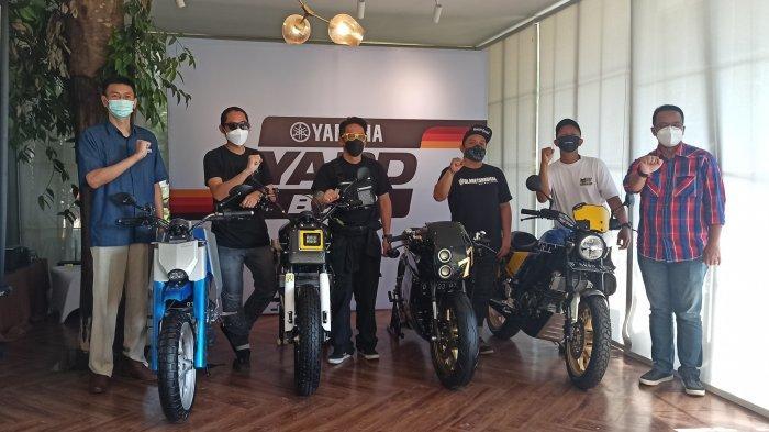 Kerennya Yard Built Yamaha XSR 155 Hasil Modifikasi Builder Bandung Buat Adventure
