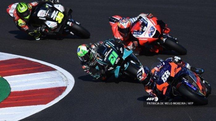 Hasil Lengkap MotoGP Portugal 2020, Miguel Oliveira Tercepat, Joan Mir DNF, Valentino Rossi ke-12