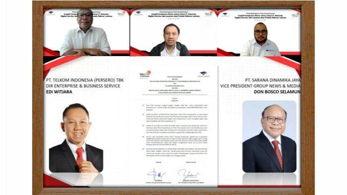 Sinergi Telkom & Media Group Perkuat Infrastruktur Digital Ekosistem Bisnis Media