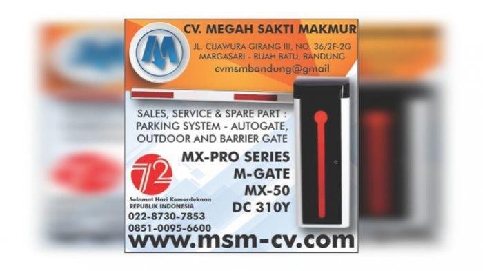 Butuh Pintu Gerbang Otomatis dan Mesin Parkir? Percayakan ke Ahlinya, Berkualitas dan Bergaransi