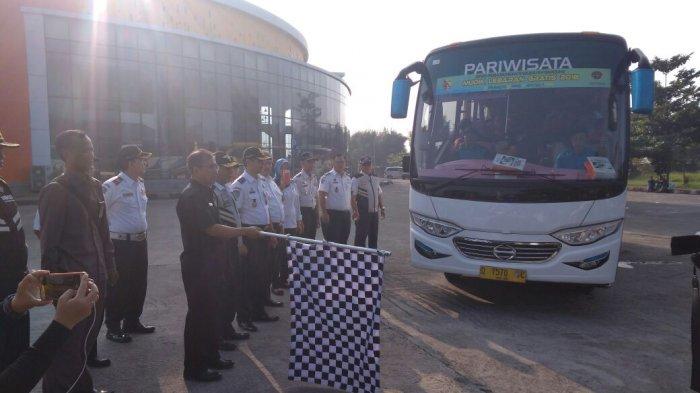 Pemkab Bandung Lepas 4 Bus Pemudik Gratis Tujuan Jawa Tengah