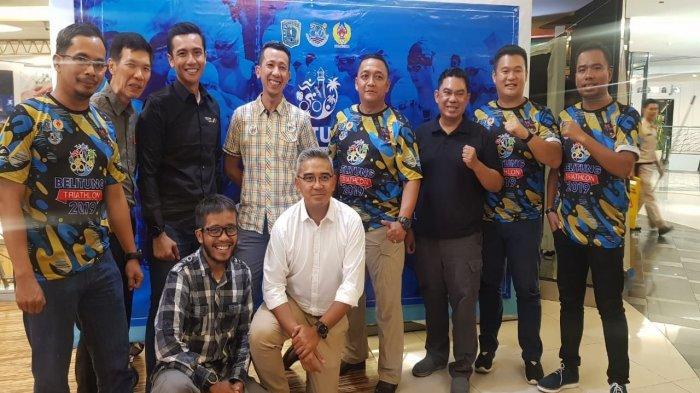 Farhan Promosi Olah Raga Sambil Wisata ke Negeri Laskar Pelangi Lewat ''Belitung Triathlon 2019''