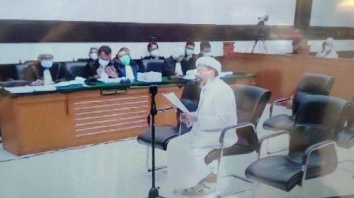 Replik Jaksa di Sidang Rizieq Shihab, Imam Besar Cuma Isapan Jempol sampai Pleidoi Isi Keluh Kesah