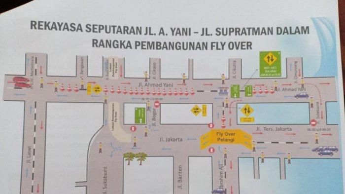 MULAI SENIN, Begini Rekayasa Lalu-lintas di Jalan Jakarta-Supratman-Ahmad Yani-Kiaracondong