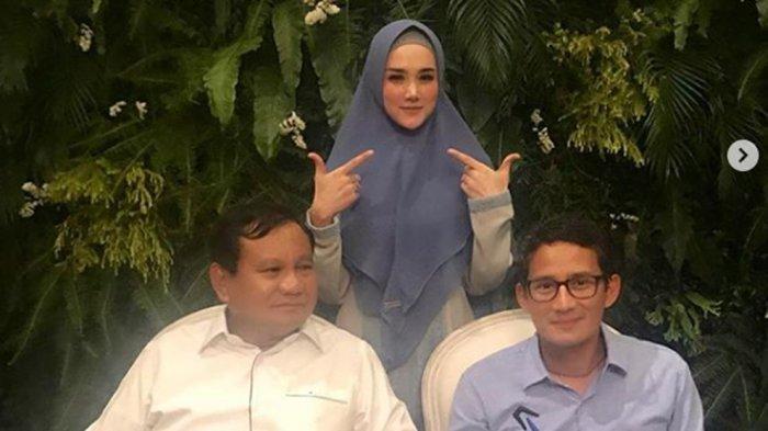 Mulan Jameela Jadi Anggota DPR? Instagram Banjir Ucapan Selamat, Ini Komentar Mulan, Sebut Prabowo