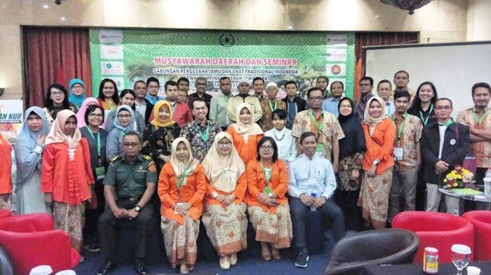 Para Pengusaha Jamu di Jabar Gelar Musda Pertama di Kota Bandung, Nih Ketua Baru Periode 2019-2023