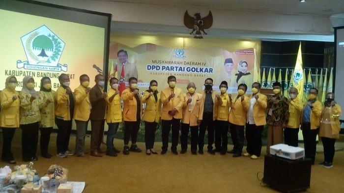 DPD Partai Golkar KBB Punya Pimpinan Baru, Ketua Terpilih Sebut Jabatan Ini Tidak Untuk Mencari Uang