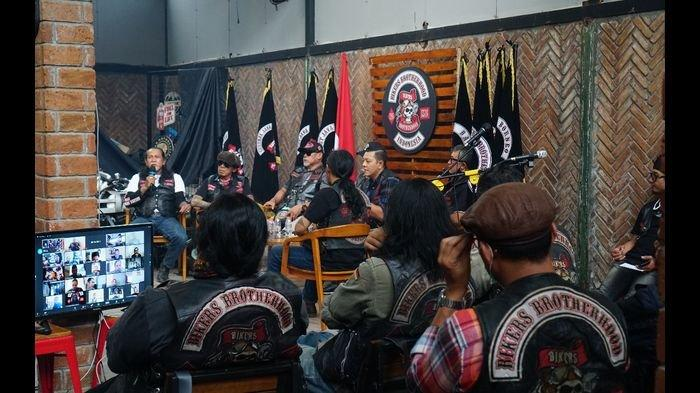 Musyawarah Adat BB1% MC 2020 Pilih Pegi Diar Kembali Jadi El Presidente BB1%MC Indonesia 2020-2024