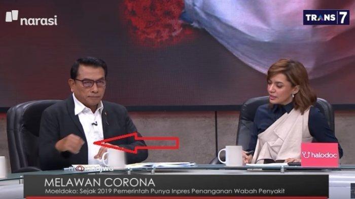 Bahas Virus Corona, Najwa Shihab Potong Pembicaraan Moeldoko, Warga Merasa Wali Kota Depok Ngawur