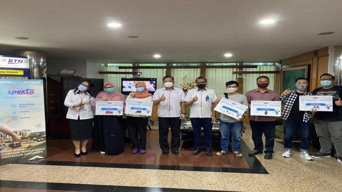 Tujuh Nasabah BTN KC Bandung Beruntung pada Pengundian Tahap Pertama Program Batara Spekta