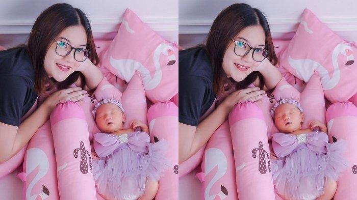 Bayi Nella Kharisma Bikin Terpesona, Cantik dan Imut Bak Boneka, Istri Dory Harsa Jadi Mama Idaman