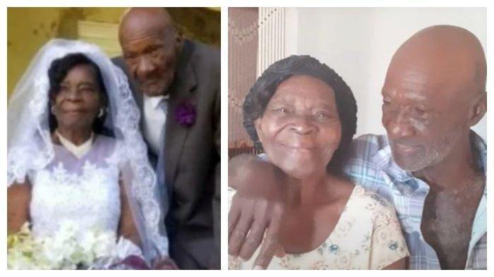 Setelah Pacaran 10 Tahun, Wanita 91 Tahun Ini Menikahi Pacarnya yang Berusia 73 Tahun